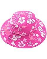 Chapeau Reversible Sun Baby Banz - Blanc Pink And/Rose Blanc And