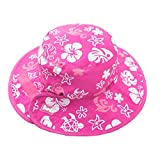 Banz Reversible Sun Baby Hat Pink And White