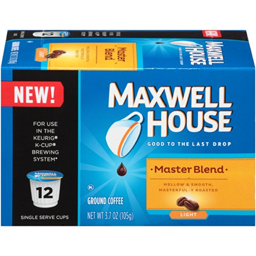 Maxwell Coffee 3.7 OZ (Pack of 6) (Maxwell House Master Blend compare prices)