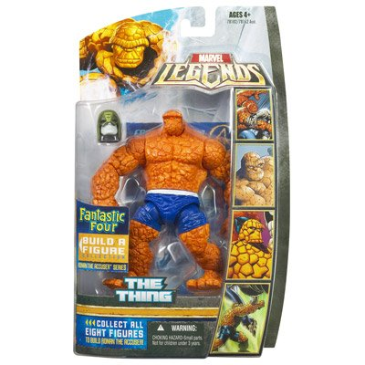 Picture of Hasbro Fantastic Four Legends Series 1 Thing Action Figure (B000WK1M3C) (Fantastic Four Action Figures)