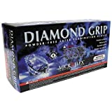 Microflex Diamond Grip Powder-Free Textured Latex Gloves