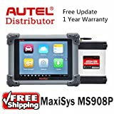 Ship from USA Autel Maxisys Pro MS908P MS908 Pro Auto Diagnostic Scanner With ECU Coding and J2534 Reprogramming Function Diagnostic Tool
