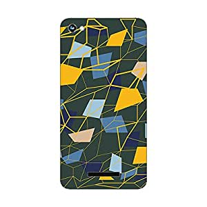Garmor Designer Plastic Back Cover For Micromax Canvas Hue A316