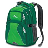 High Sierra Swerve Backpack, Ivy Kelly Green, 19x13x7.75-Inch