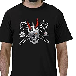 That Metal Show: Skull and Spike Bat Tee - Men