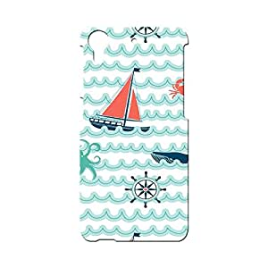 BLUEDIO Designer Printed Back case cover for HTC Desire 626 - G5654