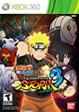 Naruto Shippuden: Ultimate Ninja Storm 3 para XBox 360.