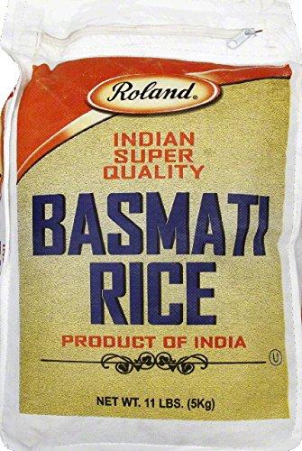 RICE BASMATI FANCY , 4 x 11 LB (Roland Basmati Rice compare prices)
