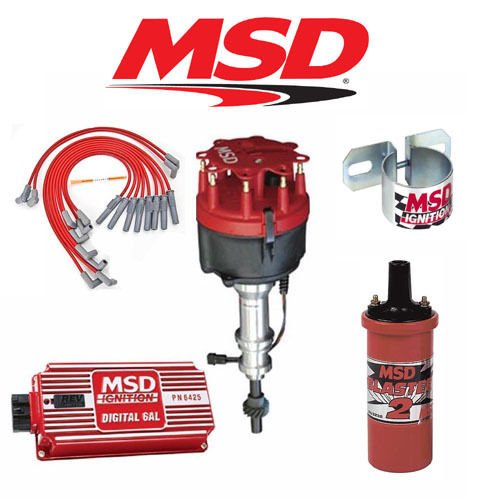 MSD 9015 Ignition Kit - Digital 6AL/Distributor/Wires/Coil/Bracket - Ford 351W (Msd Distributor 8584 compare prices)