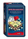 Noris Spiele 606112580 - 99-iger Spielesammlung in Metallbox