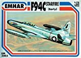 """Emhar Models F-94C Starfire Early Airplane Model Building Kit by MMD Holdings, LLC by """"MMD Holdings, LLC"""""""