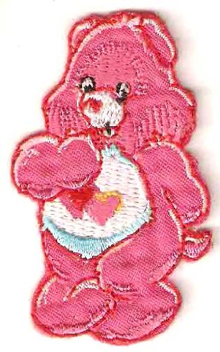 Love-A-Lot pink Bear in Care Bears Embroidered