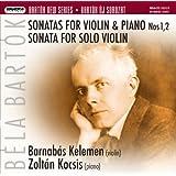 Bartok:Violin Sonatas 1&2