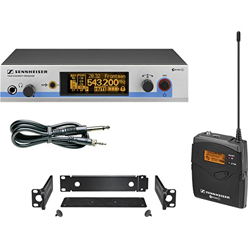 Sennheiser Ew 572 G3 - Wireless Instrument System With Bodypack Transmitter And Ci1 Instrument Cable. G-Range (566-608 Mhz)