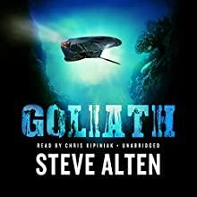 Goliath Audiobook by Steve Alten Narrated by Chris Kipiniak