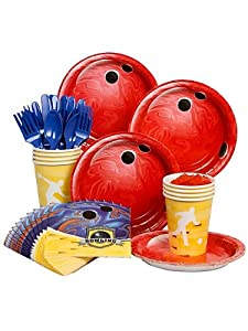 Bowling Party Standard Kit Serves 8 Guests