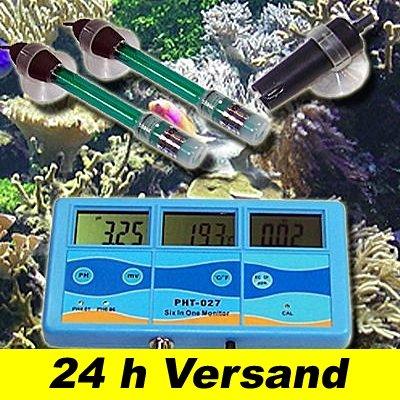 PH Messgerät Leitwert Redox Temperatur Meter EC PPM P15