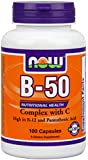 NOW Foods B-50 Complex with C -100 Capsules