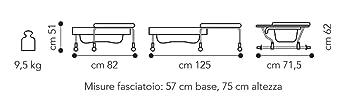 brevi combin baignoire table table langer lapin. Black Bedroom Furniture Sets. Home Design Ideas