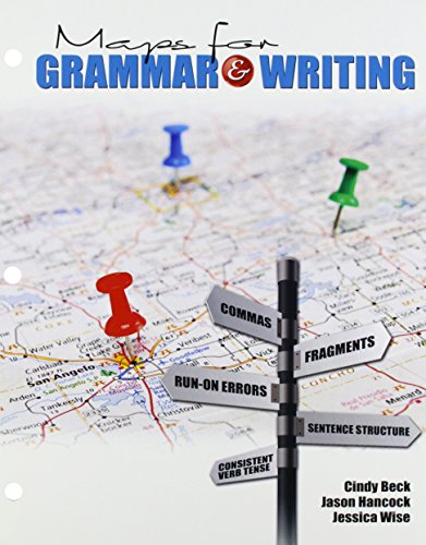 Maps for Grammar AND Writing