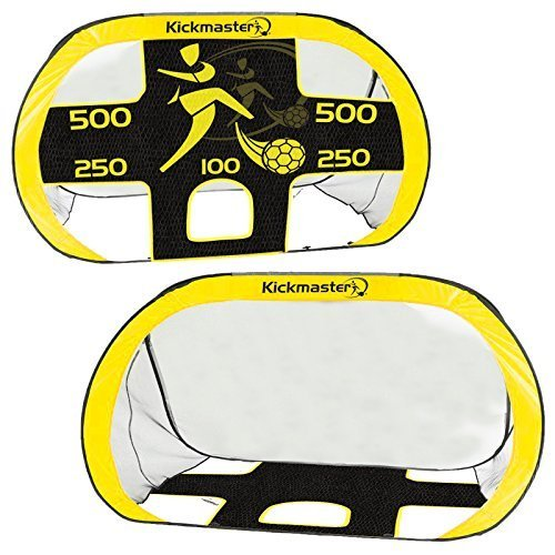 kickmaster-2-in-1-fold-away-strong-pop-up-portable-football-target-shoot-goal
