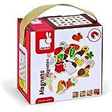 Janod - 4508156 - Magnets en bois - Jardin - 24 pièces - Multicolore