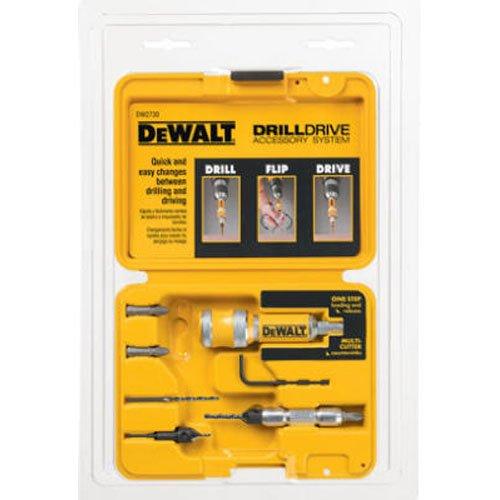 DEWALT DW2730 8 Piece Quick Change Drill and Drive Set (Color: Yellow)