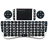 IPazzPort Wireless Mini Keyboard With Touchpad Combo For Raspberry Pi 3 / XBMC / Android And Google Smart TV Box...