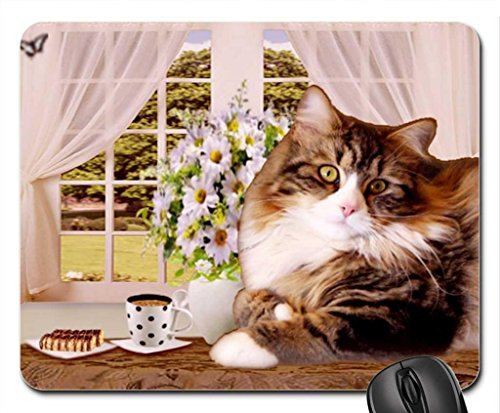 cute cat Mouse Pad, Mousepad (Cats Mouse Pad)