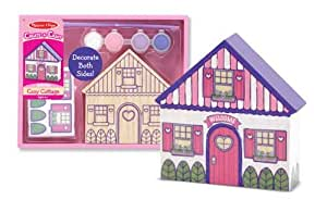 Melissa & Doug Decorate-Your-Own Cozy Cottage