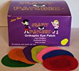 Krafty Eye Patches (Unisex) Medium Size (50 per box & 1 bag foam stickers)