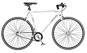 Viking Fixed Wheel Bike - White, 59 cm from Viking