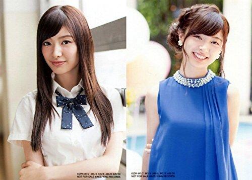 AKB48 公式生写真 「LOVE TRIP / しあわせを分けなさい」通常盤 封入特典 2種コンプ 【武藤十夢】