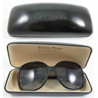 New Sunglass Case Black Durable Hard Clam Shell Glasses Portable Box Protector