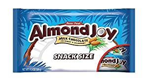 Almond Joy Snack Size Bars, 11.3-Ounce Packages (Pack of 6)