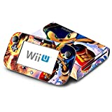 Sonic The Hedgehog Decorative Decal Cover Skin for Nintendo Wii U Console and GamePad