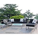 Lux Lounge Mittelelement 67 x 67 cm, h 62 cm weiß