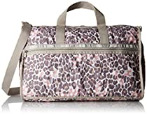 LeSportsac Large Weekender Bag, Animal Dots Pastel, One Size