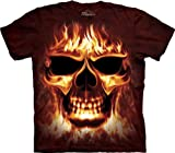Skul Fire Adults T-Shirt