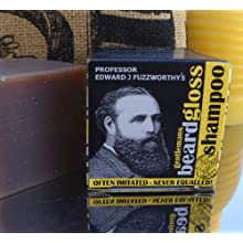 Professor Fuzzworthy's Beard SHAMPOO with All Natural Oils From Tasmania Australia