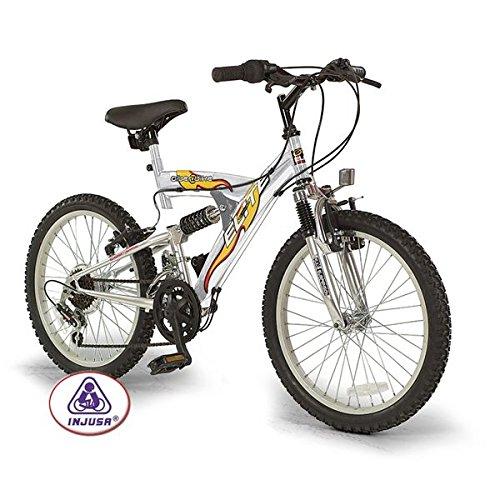 "Injusa - Bicicleta K-Ciber 20"" 500 6V Full Suspension (20513)"