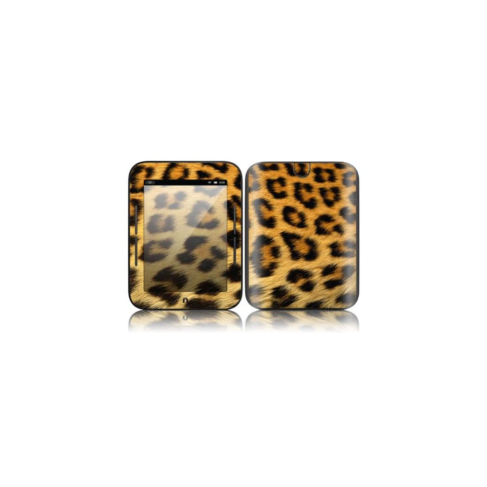 Leopard Print Design Decorative Skin Cover Decal Sticker for  NOOK Simple Touch 6 inch Touchscreen eBook Reader