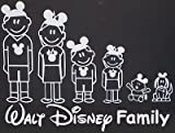 Disney Family Decal Automotive Vinyl Sticker