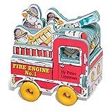 Mini Wheels: Mini Fire Engine (Mini Wheel Books) (0761124985) by Lippman, Peter