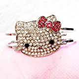 DIY Jewelry Making: 1x Hello Kitty Bangle with Rhinestones Bracelet