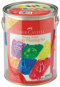 Young Artist Finger Painting Gift Set