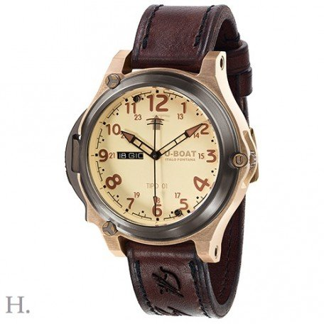 U-Boat Tipo 0150mm titanium Bronze Be/BR Limited Edition