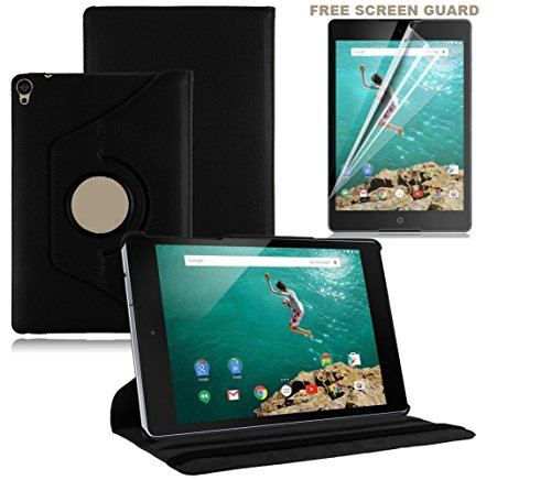 Generic 360 degree rotating leather case cover stand for Xiaomi Mi Pad 7.9inch + Screen Guard