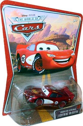 Disney Pixar: Cars The World of Cars Radiator Springs Lightning McQueen #2 Die Cast Vehicle
