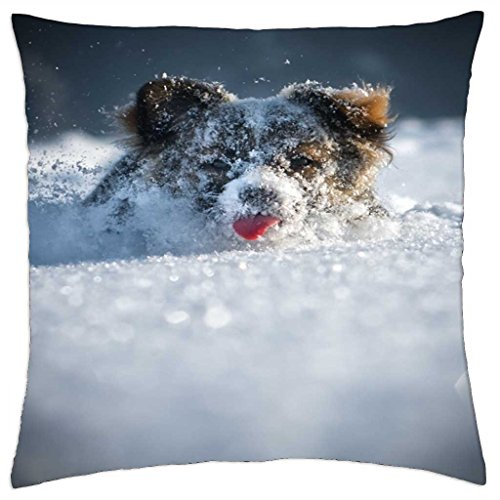 Plow Snow-Cover (Throw Pillow 18